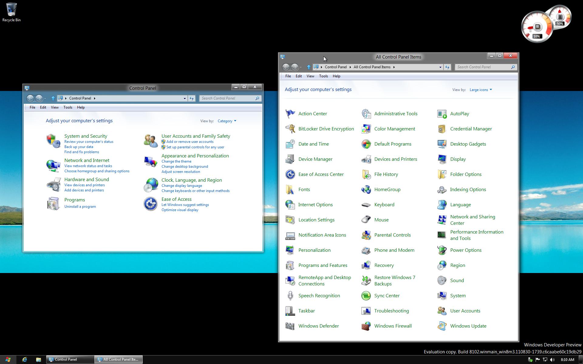 Windows 10 klassischer desktop anzeigen